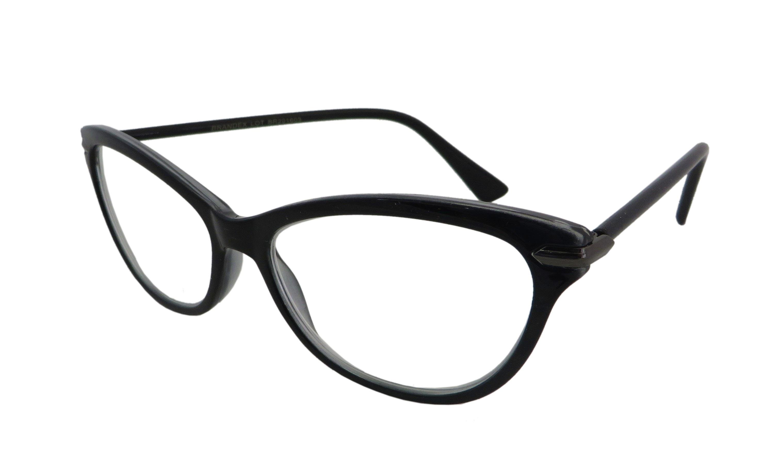 Okulary o kształcie kocich oczu