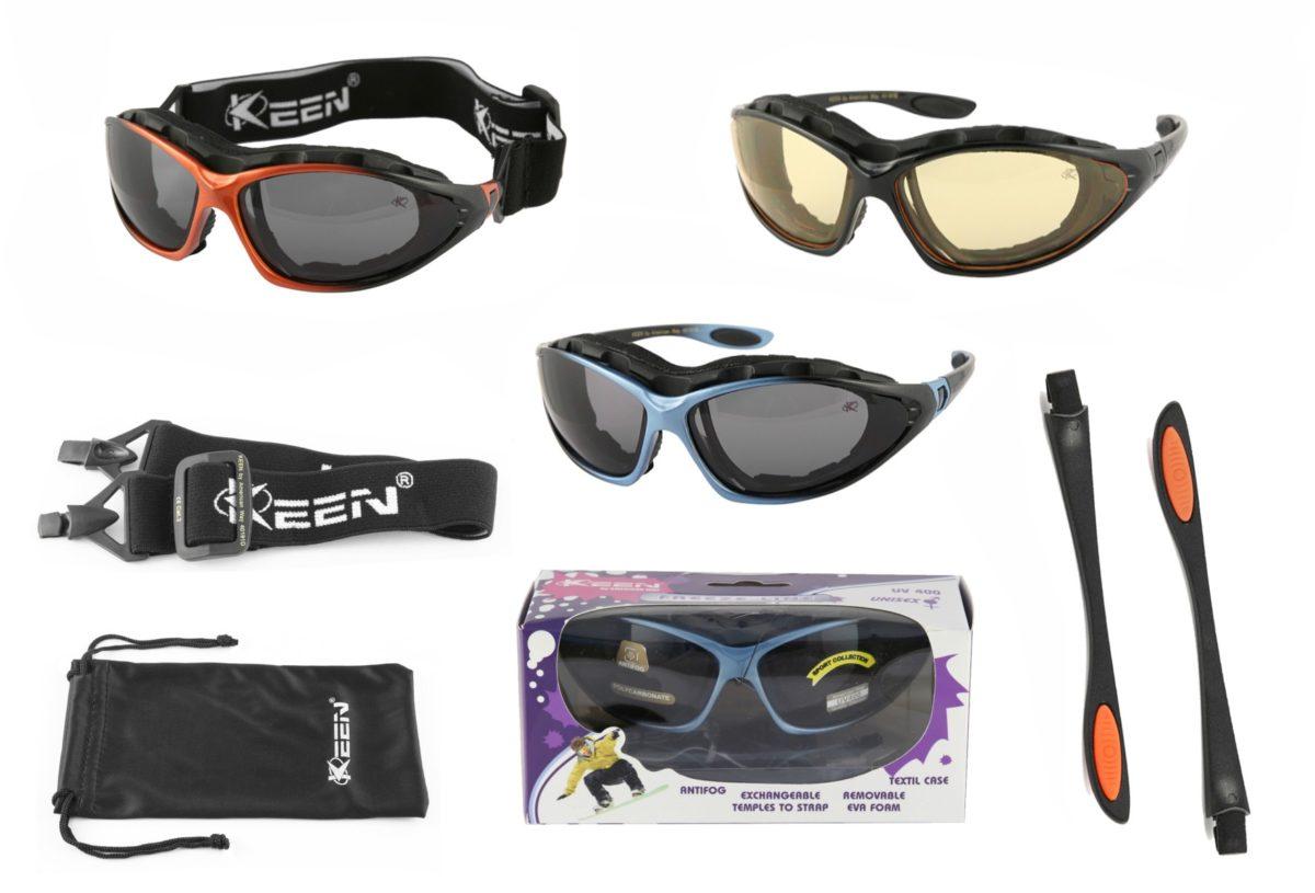 Okulary sportowe zimowe