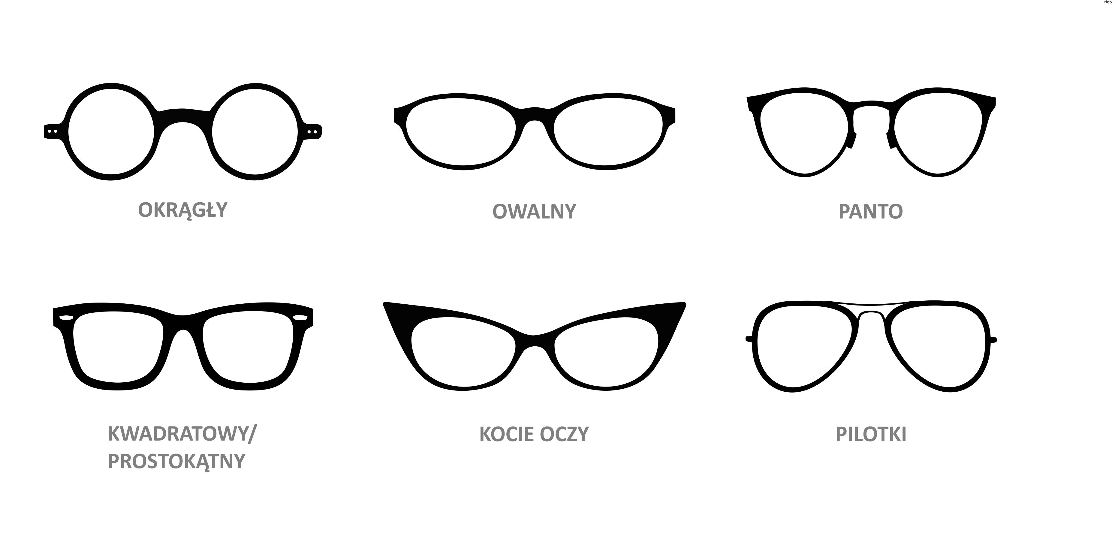 Jak dobrać okulary do twarzy? Najpopularniejsze kształty
