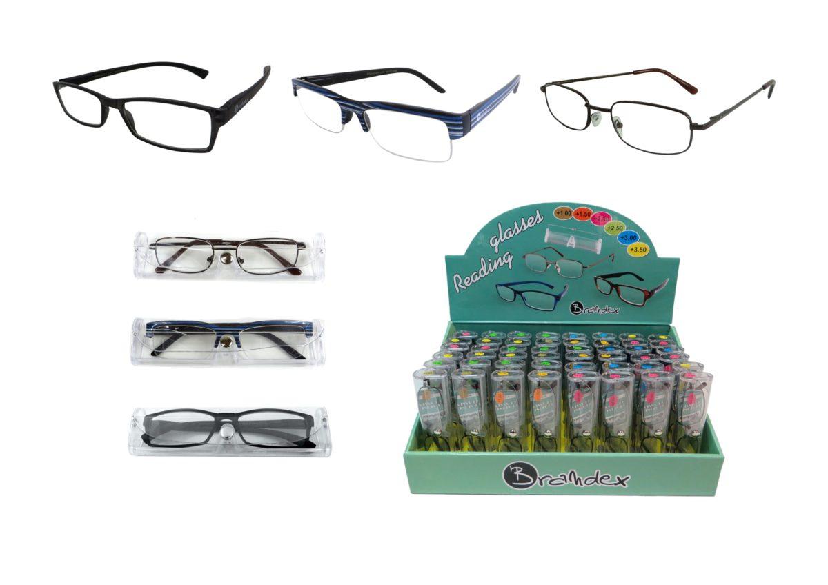 Okulary do czytania w etui